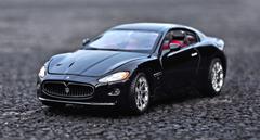 1/24 BBurago Maserati Gran Turismo GT (Black) Diecast Car Model