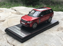 1/43 Dealer Edition Land Rover Range Rover (Red) Diecast Car Model