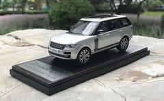 1/43 Dealer Edition Land Rover Range Rover (Silver) Diecast Car Model