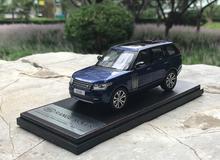 1/43 Dealer Edition Land Rover Range Rover (Blue) Diecast Car Model