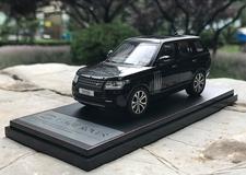 1/43 Dealer Edition Land Rover Range Rover (Black) Diecast Car Model