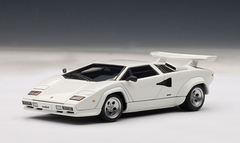 1/43 AUTOart LAMBORGHINI COUNTACH 5000 S 5000S - WHITE Diecast Car Model
