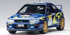 1/18 AUTOart SUBARU IMPREZA WRC 1997 #4 PIERO LIATTI/FABRIZIAPONS (RALLY OF MONTE CARLO) Diecast Car Model