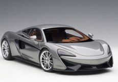 1/18 AUTOart McLaren 570S (Silver Grey) Diecast Car Model