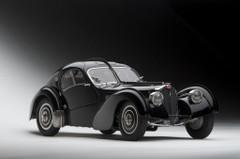 RARE 1/18 AUTOart Bugatti Coupé Atlantic Type 57 SC 57SC 1938 Schwarz Black Diecast Car Model