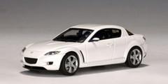 1/43 AUTOart Mazda RX-8 RX8 (White) Diecast Car Model