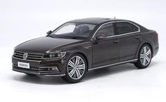 1/18 Dealer Edition Volkswagen VW Phideon (Dark Brown) Diecast Car Model