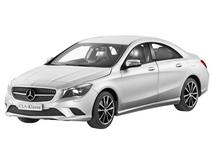 1/18 Dealer Edition Mercedes-Benz CLA (Silver) Diecast Car Model