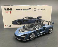 1/64 TSM MINI GT McLaren Senna Diecast Car Model