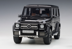 1/18 AUTOart Mercedes-Benz MB G-Class G-Klasse G63 AMG (Gloss Black) Diecast Car Model