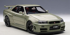 1/18 AUTOart NISMO R34 GT-R GTR Z-TUNE (MILLENNIUM JADE)(LIMITED EDITION OF 2,000 PCS WORLDWIDE) Diecast Car Model