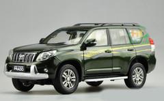 1/18 Dealer Edition Toyota Prado (Green w/ Stripes) Diecast Car Model