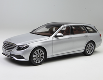 1/18 Dealer Edition Mercedes-Benz MB S213 W213 E-Class E-Klasse Wagon (Silver) Diecast Car Model