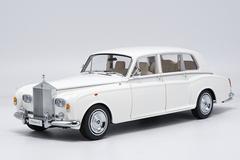 1/18 Kyosho 1968 ROLLS-ROYCE PHANTOM VI (WHITE) Hardtop Diecast Car Model