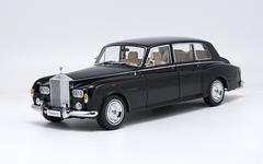 1/18 Kyosho 1968 ROLLS-ROYCE PHANTOM VI (BLACK) Hardtop Diecast Car Model