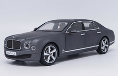 1/18 Kyosho Bentley Mulsanne (Matte Grey) Diecast Car Model