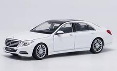 1/24 Welly FX Mercedes-Benz MB S-Class S-Klasse S600 (White) Diecast Car Model