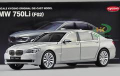 1/18 Kyosho BMW F02 7 Series 750Li (Silver) Diecast Car Model