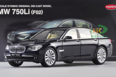 1/18 Kyosho BMW F02 7 Series 750Li (Black) Diecast Car Model