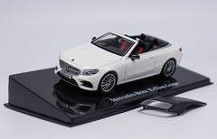 1/43 Dealer Edition Mercedes-Benz MB E-Class E-Klasse Coupe (Pearl White) Diecast Car Model