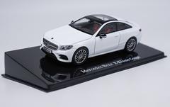 1/43 Dealer Edition Mercedes-Benz MB E-Class E-Klasse Coupe Hardtop (White) Diecast Car Model