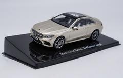 1/43 Dealer Edition Mercedes-Benz MB E-Class E-Klasse Coupe Hardtop (Champagne) Diecast Car Model