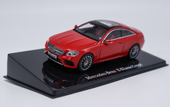 1/43 Dealer Edition Mercedes-Benz MB E-Class E-Klasse Coupe Hardtop (Red) Diecast Car Model