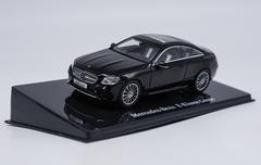 1/43 Dealer Edition Mercedes-Benz MB E-Class E-Klasse Coupe Hardtop (Black) Diecast Car Model