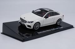 1/43 Dealer Edition Mercedes-Benz MB E-Class E-Klasse Coupe Hardtop (Pearl White) Diecast Car Model