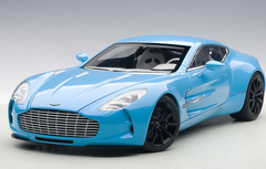 1/18 AUTOart ASTON MARTIN ONE-77 ONE77 (TIFFANY BLUE) Diecast Car Model