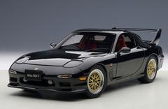 1/18 AUTOart MAZDA ɛ̃fini RX-7 RX7 (FD) TUNED VERSION (BRILLIANT BLACK) Diecast Car Model