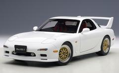 1/18 AUTOart MAZDA ɛ̃fini RX-7 RX7 (FD) TUNED VERSION (PURE WHITE) Diecast Car Model
