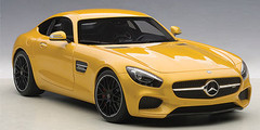 1/18 AUTOart Mercedes-Benz MB MERCEDES AMG GTS GT S (YELLOW) Diecast Car Model