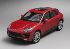 1/24 Welly FX Porsche Macan Turbo (Red) Diecast Car Model