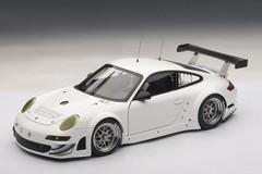 1/18 AUTOart PORSCHE 911(997) GT3 RSR 2010 PLAIN BODY VERSION (WHITE) Diecast Car Model