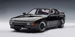 1/18 AUTOart PORSCHE 924 CARRERA GT 1980 - BLACK Diecast Car Model