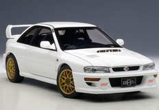 1/18 AUTOart SUBARU IMPREZA 22B (WHITE)(UPGRADED VERSION)(LIMITED EDITION OF 1,500 PCS WORLDWIDE) Diecast Car Model