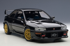 1/18 AUTOart SUBARU IMPREZA 22B (BLACK)(UPGRADED VERSION)(LIMITED EDITION OF 1,500 PCS WORLDWIDE) Diecast Car Model