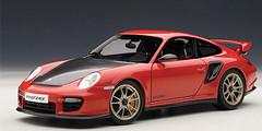 1/18 AUTOart PORSCHE 911(997) GT2 RS (RED) Diecast Car Model