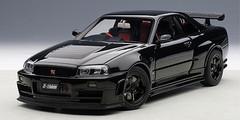 1/18 AUTOart NISSAN NISMO R34 GT-R GTR Z-TUNE(BLACK) Diecast Car Model