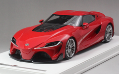 1/18 AutoBarn AB Toyota FT-1 FT1 Concept Car (Red) Resin Car Model