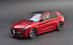 1/18 OTTO Alfa Romeo Stelvio Quadrifoglio (Red) Limited Resin Car Model