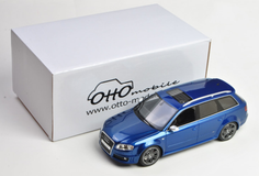 1/18 OTTO Audi RS4 B7 Wagon (Blue) Resin Car Model Limited 999