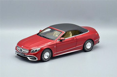 1/18 Dealer Edition Mercedes-Benz MB Maybach S-Class S-Klasse S650 Coupe Convertible (Red) Diecast Car Model