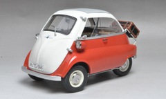 1/12 Dealer Edition BMW Isetta (Orange) Diecast Car Model