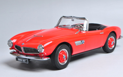 1/18 Dealer Edition 1955 BMW 507 Convertible (Red) Diecast Car Model