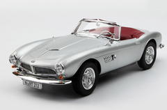 1/18 Norev 1955 BMW 507 Convertible (Silver) Diecast Car Model