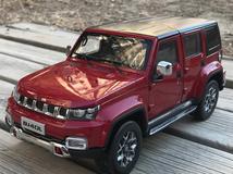 1/18 Dealer Edition 2018 Beijing Jeep BJ40 Plus BJ40L (Red) Diecast Car Model