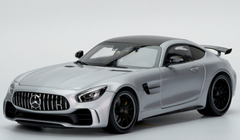 1/18 Almost Real Almostreal Mercedes-Benz MB Mercedes AMG GTR (Silver) Diecast Car Model
