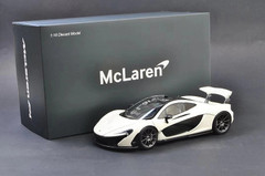 1/18 Dealer Edition McLaren P1 (White) Diecast Car Model